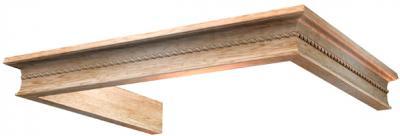 Комплект багетов для вытяжки KRONAsteel Beatris 60 CPB/0 (Unpainted) - общий вид