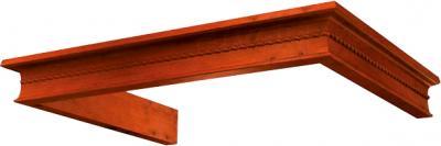 Комплект багетов для вытяжки KRONAsteel Beatris 60 CPB/3 (Dark Walnut) - общий вид (цвет уточняйте при заказе)