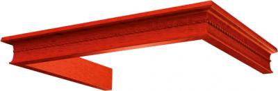 Комплект багетов для вытяжки KRONAsteel Beatris 60 CPB/4 (Cherry) - общий вид (цвет уточняйте при заказе)