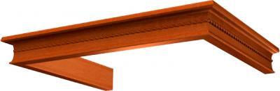 Комплект багетов для вытяжки KRONAsteel Beatris 60 CPB/6 / 00015825 (итальянский орех) - общий вид (цвет уточняйте при заказе)