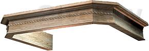 Комплект багетов для вытяжки KRONAsteel Serena 60 CPB/0 (Unpainted) - общий вид