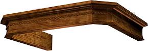Комплект багетов для вытяжки KRONAsteel Serena 60 CPB/2 (Dark Oak) - общий вид (цвет товара уточняйте при заказе)
