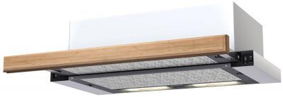 Декоративная панель для вытяжки KRONAsteel Light Oak - общий вид (цвет уточняйте при заказе)