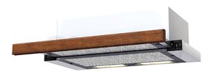 Декоративная панель для вытяжки KRONAsteel Dark Oak - общий вид (цвет уточняйте при заказе)