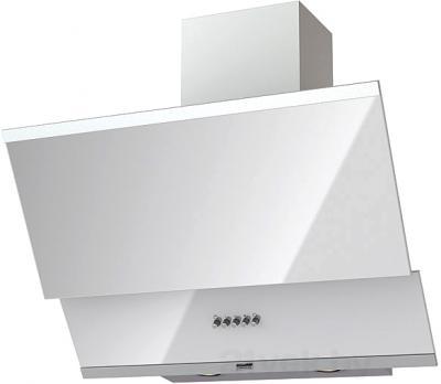 Вытяжка декоративная KRONAsteel Irida 60 (белый, кнопочное управление) - общий вид