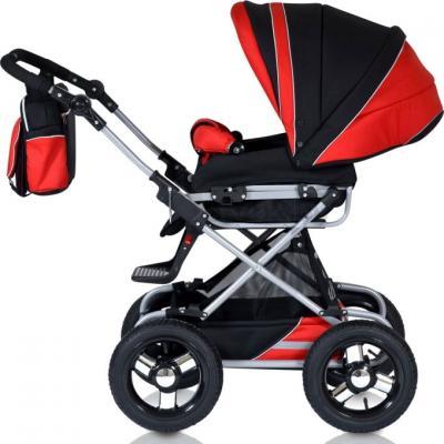 Детская универсальная коляска Riko Balerina 2 в 1 (01) - прогулочная (цвет warm red)
