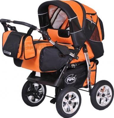 Детская универсальная коляска Riko Master (Agent Orange) - общий вид