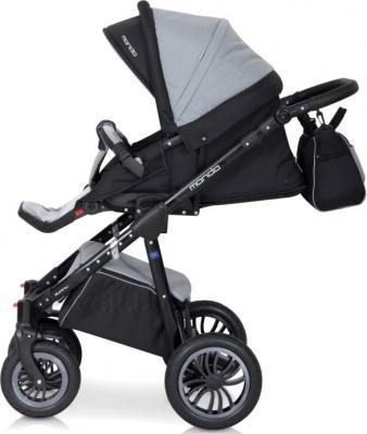 Детская универсальная коляска Expander Mondo Black Line 2 в 1 (Violet) - прогулочная (цвет Carbon)
