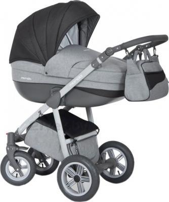 Детская универсальная коляска Expander Mondo Grey Line 2 в 1 (Gray Fox) - общий вид