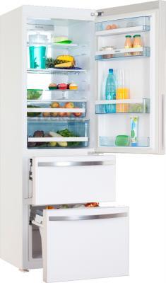 Холодильник с морозильником Haier AFD631GW - в открытом виде