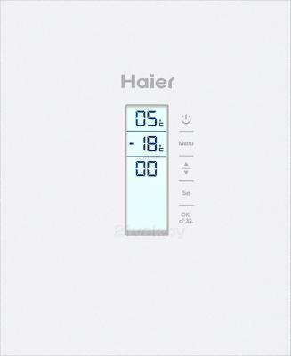 Холодильник с морозильником Haier AFD631GW - дисплей