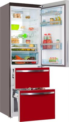 Холодильник с морозильником Haier AFD631GR - в открытом виде
