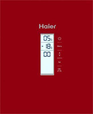 Холодильник с морозильником Haier AFD631GR - дисплей