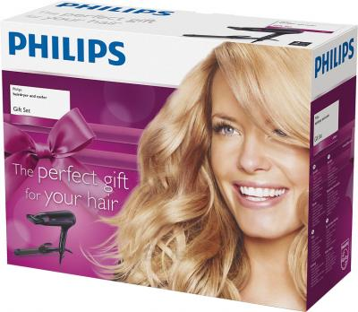 Фен+стайлер Philips HP8641/00 - упаковка