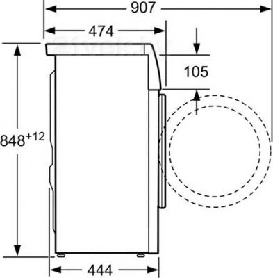 Стиральная машина Bosch WLK24247OE - схема