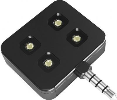 LED-вспышка для смартфонов iBlazr Premium (Black) - общий вид