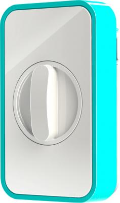 Умный дверной замок Lockitron Light Blue - общий вид