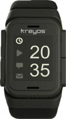 Интеллектуальные часы Kreyos Meteor (Black) - общий вид
