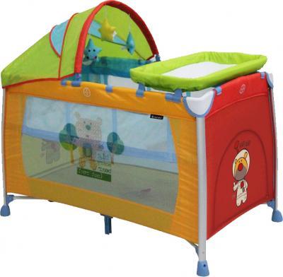 Кровать-манеж Lorelli Dreamer 2 Layers Plus (Multicolor) - общий вид