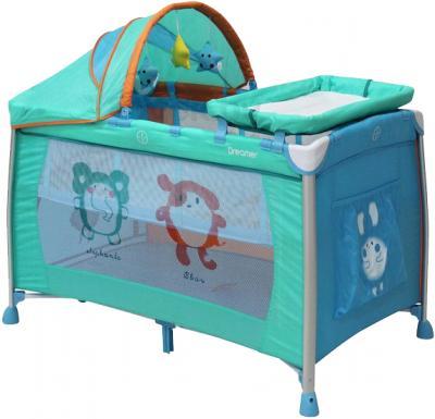 Кровать-манеж Lorelli Dreamer 2 Layers Plus (Zoo ) - общий вид