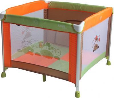 Игровой манеж Lorelli Game Zone (Cow Orange Green) - общий вид