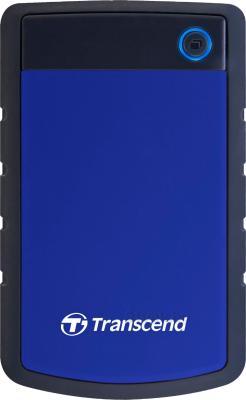 Внешний жесткий диск Transcend StoreJet 25H3B 1TB (TS1TSJ25H3B) - общий вид