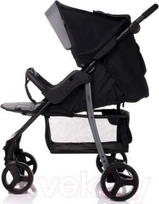 Детская прогулочная коляска 4Baby Rapid (синий) - общий вид