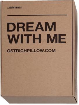 Подушка-страус Studio Banana Things Ostrich Pillow - в упаковке