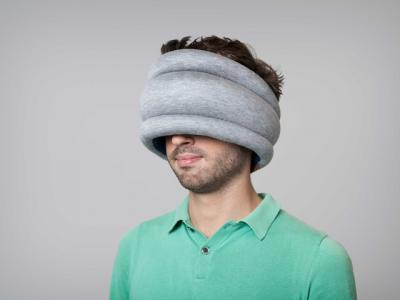 Подушка-страус Studio Banana Things Ostrich Pillow Light - общий вид