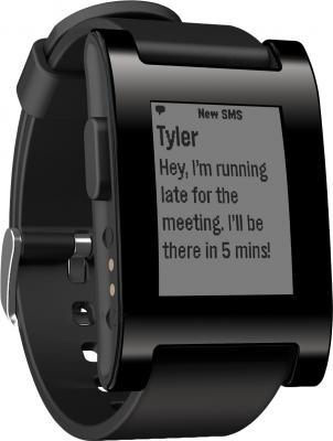 Интеллектуальные часы Pebble Technology Smartwatch (Black) - общий вид