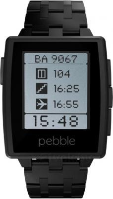 Интеллектуальные часы Pebble Technology Steel - общий вид
