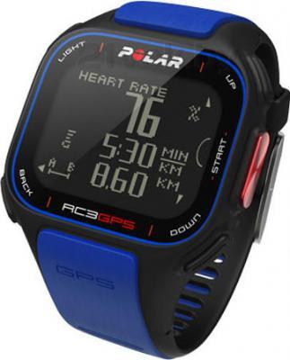 Пульсометр Polar RC3 GPS HR (Blue) - общий вид