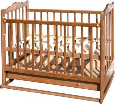 Детская кроватка Эстель 6 (светлый) - общий вид