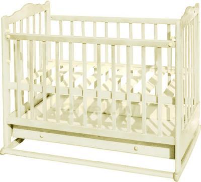 Детская кроватка Эстель 6 (слоновая кость) - общий вид