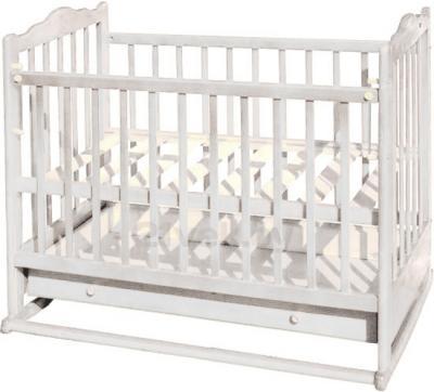 Детская кроватка Эстель 6 (белый) - общий вид