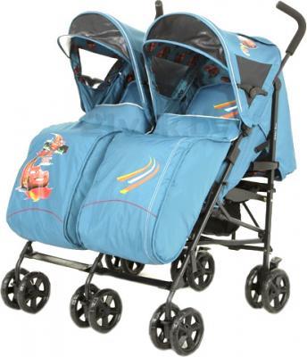 Детская прогулочная коляска Mobility One UrbanDuo A6670 (Blue) - общий вид