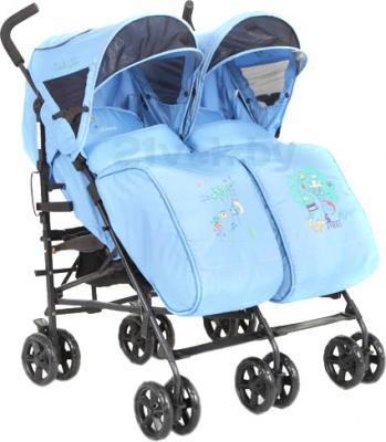 Детская прогулочная коляска Mobility One UrbanDuo A6670 (Light Blue) - общий вид