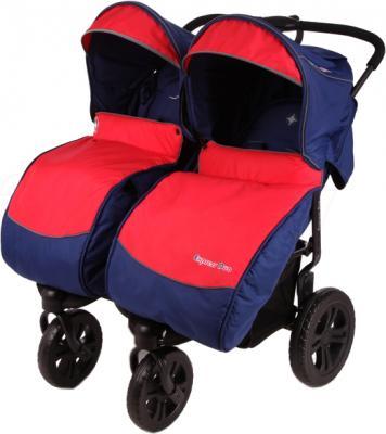 Детская прогулочная коляска Mobility One ExspressDuo P5370 (Blue-Red) - общий вид
