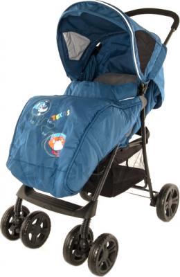 Детская прогулочная коляска Mobility One Texas E0970 (Jeans) - общий вид