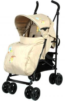 Детская прогулочная коляска Mobility One Torino A5970 (Beige) - общий вид