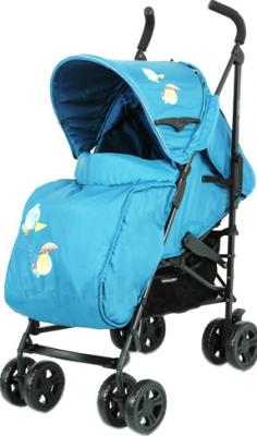 Детская прогулочная коляска Mobility One Torino A5970 (Turquoise) - общий вид