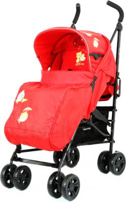 Детская прогулочная коляска Mobility One Torino A5970 (Red) - общий вид