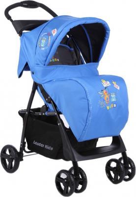 Детская прогулочная коляска Lider Kids B110 (Blue-Gray) - общий вид