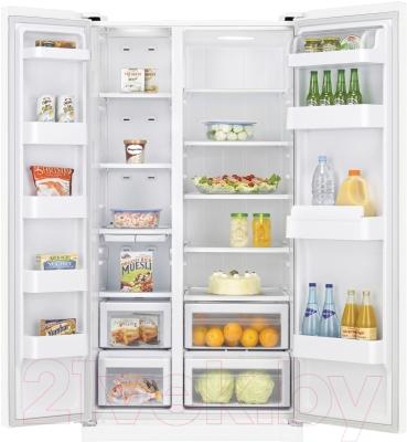 Холодильник с морозильником Samsung RSA1STWP1/BWT - в открытом виде