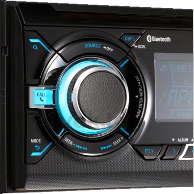 Автомагнитола Sony WX-GT90BTE - элементы управления