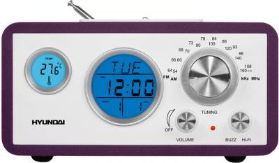 Радиоприемник Hyundai H-1611 (Purple) - общий вид