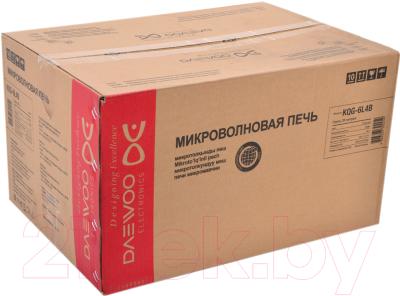 Микроволновая печь Daewoo KQG-6L4B - коробка