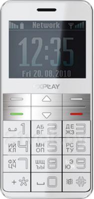 Мобильный телефон Explay BM55 (White) - общий вид