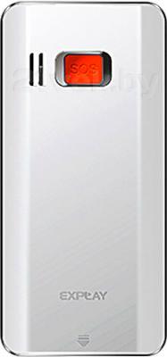 Мобильный телефон Explay BM55 (White) - задняя панель