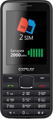 Мобильный телефон Explay Storm (Black) - общий вид